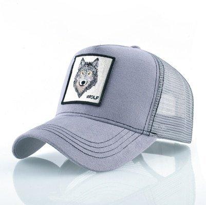 Fashion Animals Embroidery Baseball Caps Men Women Snapback Hip Hop Hat Summer Breathable Mesh Sun Gorras Unisex Streetwear Bone 12