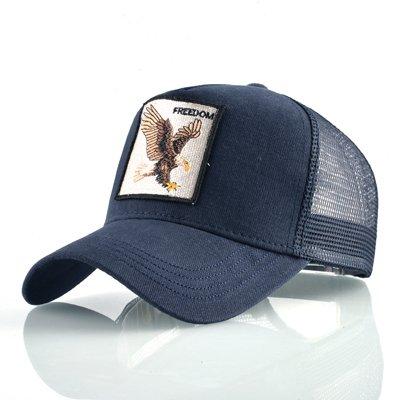 Fashion Animals Embroidery Baseball Caps Men Women Snapback Hip Hop Hat Summer Breathable Mesh Sun Gorras Unisex Streetwear Bone 15