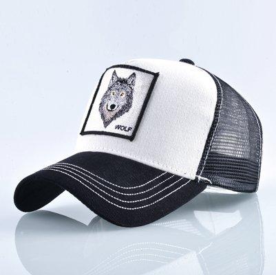 Fashion Animals Embroidery Baseball Caps Men Women Snapback Hip Hop Hat Summer Breathable Mesh Sun Gorras Unisex Streetwear Bone 7