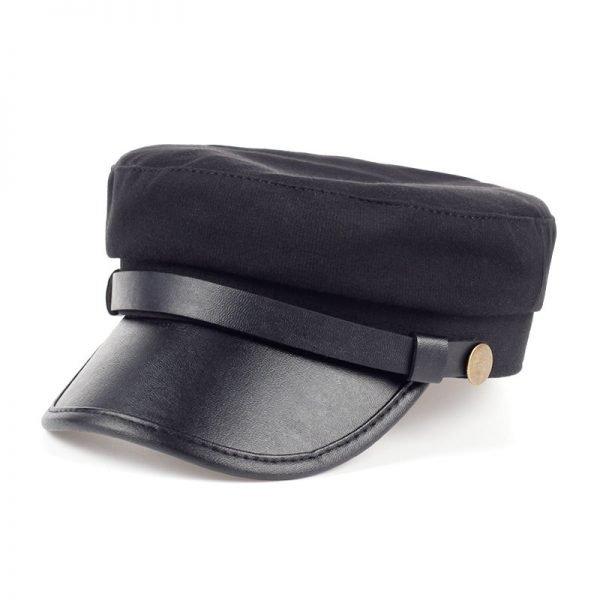 Fashion style Hex hat Unisex Newsboy Cap men Solid color cotton High Quality cowboy gorras planas man Berets Double fabric Casua 4