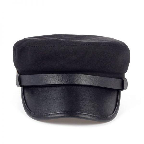 Fashion style Hex hat Unisex Newsboy Cap men Solid color cotton High Quality cowboy gorras planas man Berets Double fabric Casua 6