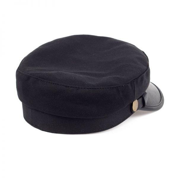 Fashion style Hex hat Unisex Newsboy Cap men Solid color cotton High Quality cowboy gorras planas man Berets Double fabric Casua 10