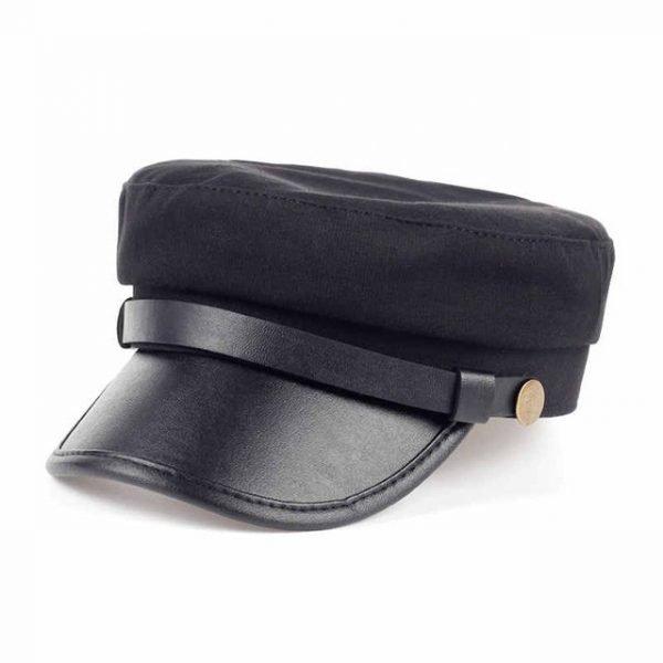 Fashion style Hex hat Unisex Newsboy Cap men Solid color cotton High Quality cowboy gorras planas man Berets Double fabric Casua 14
