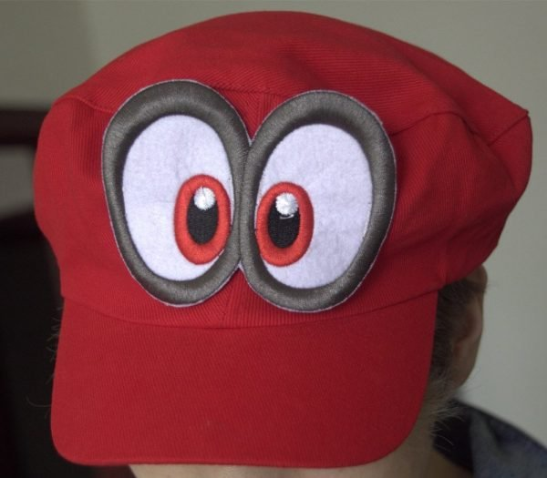 Game Super Mario Odyssey Hat Adult Kids Anime Cosplay Cap Handmade 8