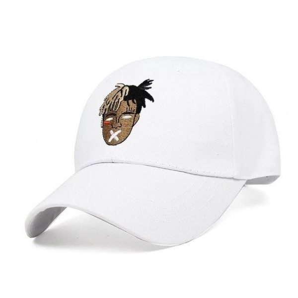 High Quality Cotton Singer xxxtentacion Dreadlocks Snapback Cap For Men Women Hip Hop Dad Hat Baseball Cap Bone Garros 14