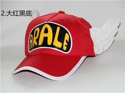 Japanese Anime Cute Dr.Slump Arale Angel Wings Anime Cosplay Hats Summer Cap Baseball Cap for Adult Size 17