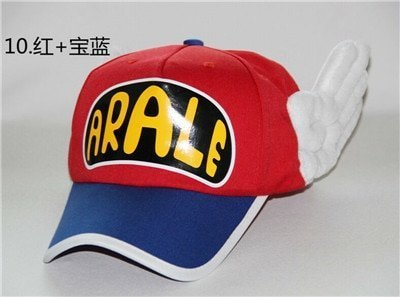 Japanese Anime Cute Dr.Slump Arale Angel Wings Anime Cosplay Hats Summer Cap Baseball Cap for Adult Size 19