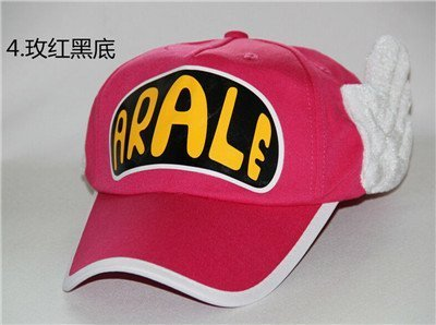 Japanese Anime Cute Dr.Slump Arale Angel Wings Anime Cosplay Hats Summer Cap Baseball Cap for Adult Size 21