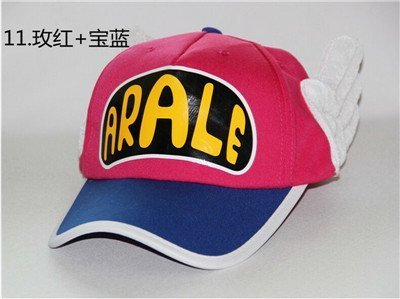 Japanese Anime Cute Dr.Slump Arale Angel Wings Anime Cosplay Hats Summer Cap Baseball Cap for Adult Size 23