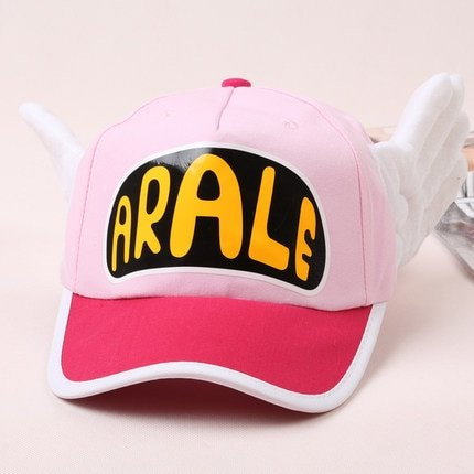 Japanese Anime Cute Dr.Slump Arale Angel Wings Anime Cosplay Hats Summer Cap Baseball Cap for Adult Size 13