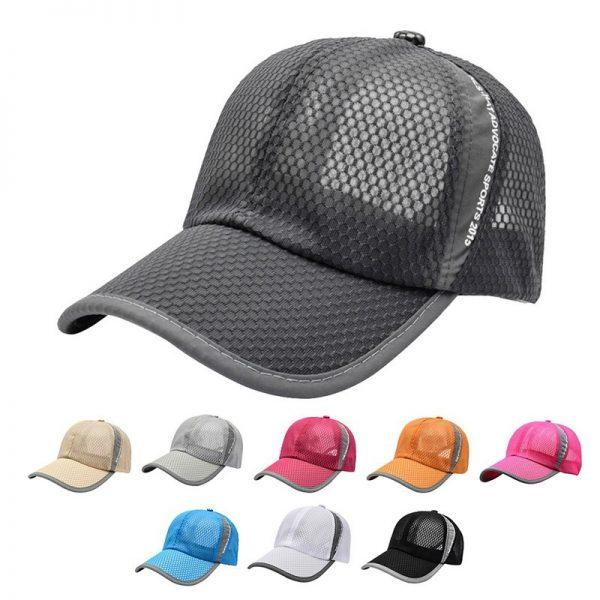 New Mesh Hats Casual Summer Autumn Sport Caps Fashion Baseball Cap Women Snapback Hat Summer Messy Bun 4