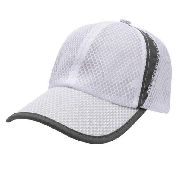 New Mesh Hats Casual Summer Autumn Sport Caps Fashion Baseball Cap Women Snapback Hat Summer Messy Bun 16