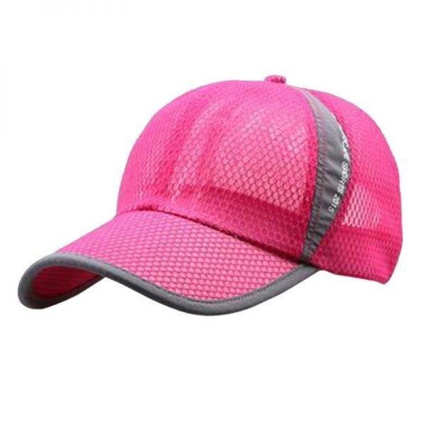 New Mesh Hats Casual Summer Autumn Sport Caps Fashion Baseball Cap Women Snapback Hat Summer Messy Bun 6