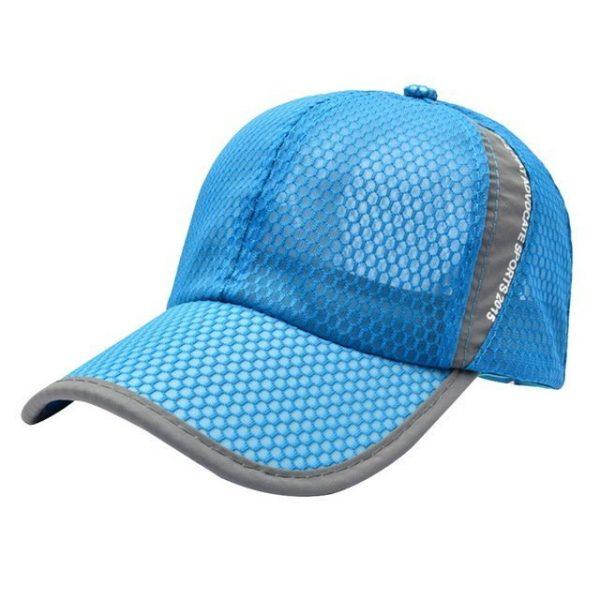 New Mesh Hats Casual Summer Autumn Sport Caps Fashion Baseball Cap Women Snapback Hat Summer Messy Bun 18