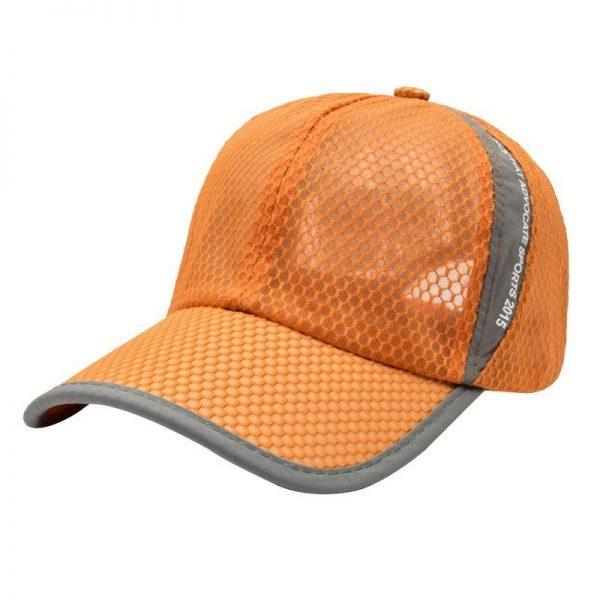 New Mesh Hats Casual Summer Autumn Sport Caps Fashion Baseball Cap Women Snapback Hat Summer Messy Bun 12