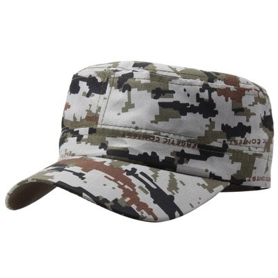 LASPERAL Camouflage Peaked Cap Adjustable Mens Womens Cap Backclosure Hat Hunting FIshing Cap Adult Outdoor Sports Camping 2