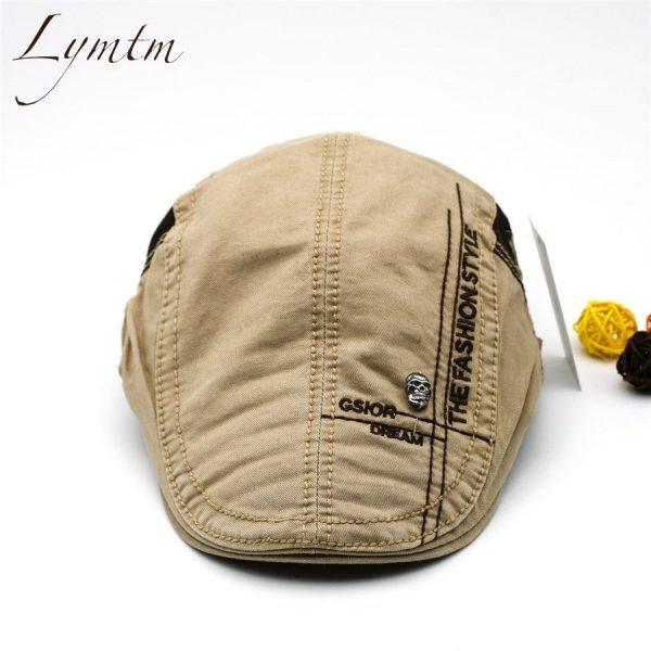 Casual British Style Unisex Solid Cabbie Hats Caps Newsboy Cap Flat Hat Irish Newsboys Caps For Men And Women 4