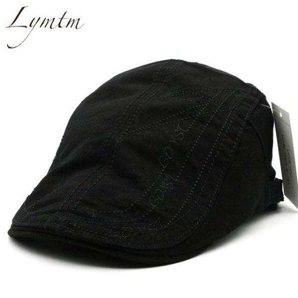 Casual British Style Unisex Solid Cabbie Hats Caps Newsboy Cap Flat Hat Irish Newsboys Caps For Men And Women 34