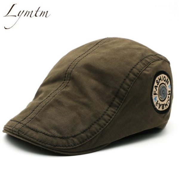 Casual British Style Unisex Solid Cabbie Hats Caps Newsboy Cap Flat Hat Irish Newsboys Caps For Men And Women 36