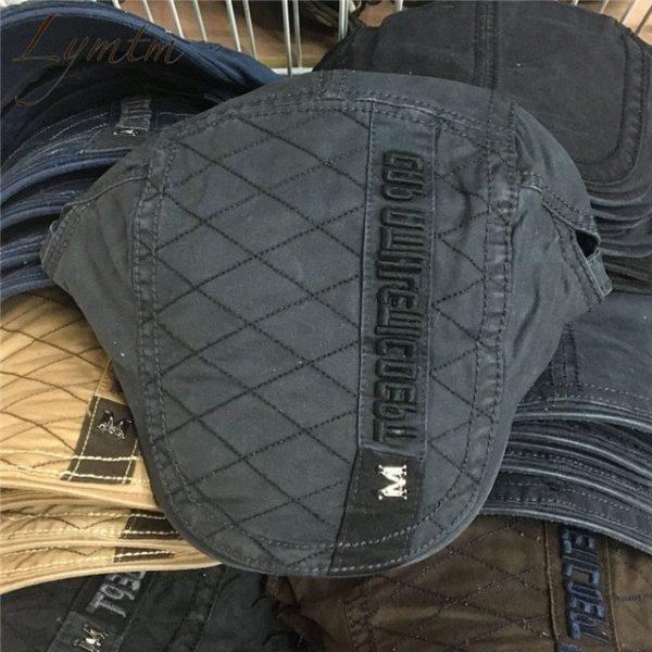 Casual British Style Unisex Solid Cabbie Hats Caps Newsboy Cap Flat Hat Irish Newsboys Caps For Men And Women 38