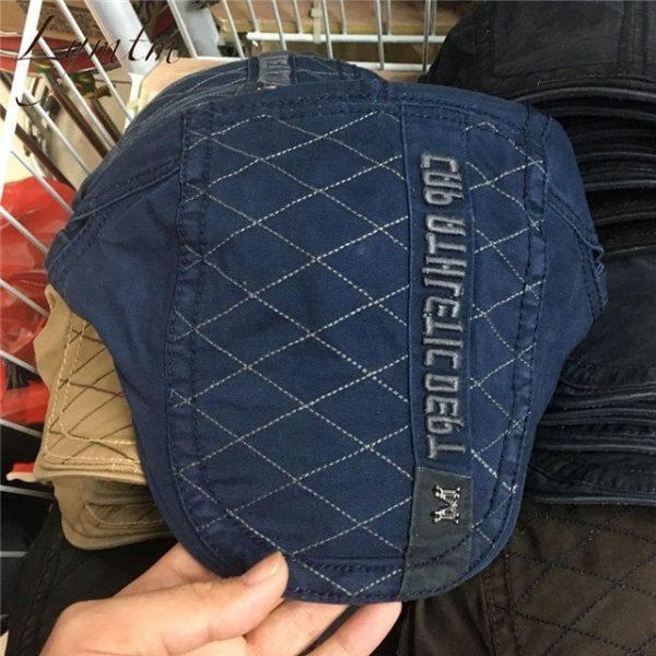 Casual British Style Unisex Solid Cabbie Hats Caps Newsboy Cap Flat Hat Irish Newsboys Caps For Men And Women 48