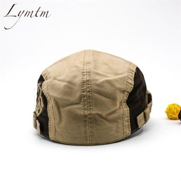 Casual British Style Unisex Solid Cabbie Hats Caps Newsboy Cap Flat Hat Irish Newsboys Caps For Men And Women 6