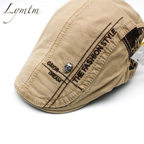 Casual British Style Unisex Solid Cabbie Hats Caps Newsboy Cap Flat Hat Irish Newsboys Caps For Men And Women 8