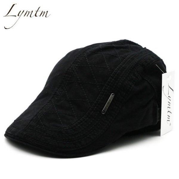 Casual British Style Unisex Solid Cabbie Hats Caps Newsboy Cap Flat Hat Irish Newsboys Caps For Men And Women 20