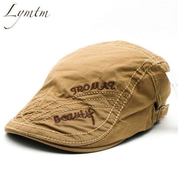 Casual British Style Unisex Solid Cabbie Hats Caps Newsboy Cap Flat Hat Irish Newsboys Caps For Men And Women 22