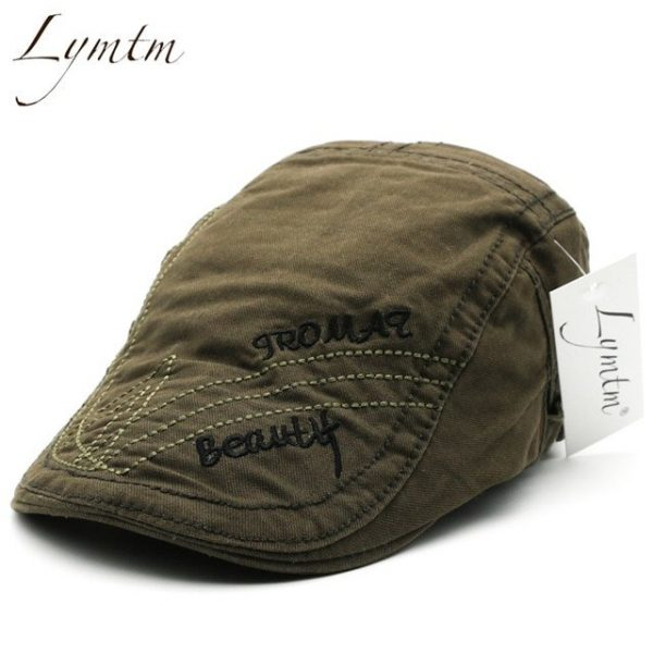 Casual British Style Unisex Solid Cabbie Hats Caps Newsboy Cap Flat Hat Irish Newsboys Caps For Men And Women 24