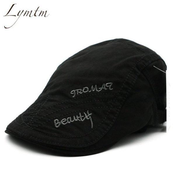 Casual British Style Unisex Solid Cabbie Hats Caps Newsboy Cap Flat Hat Irish Newsboys Caps For Men And Women 26
