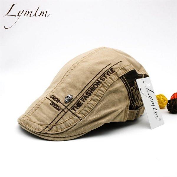 Casual British Style Unisex Solid Cabbie Hats Caps Newsboy Cap Flat Hat Irish Newsboys Caps For Men And Women 2