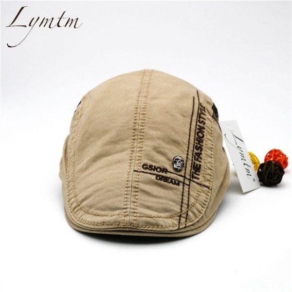 Casual British Style Unisex Solid Cabbie Hats Caps Newsboy Cap Flat Hat Irish Newsboys Caps For Men And Women 28
