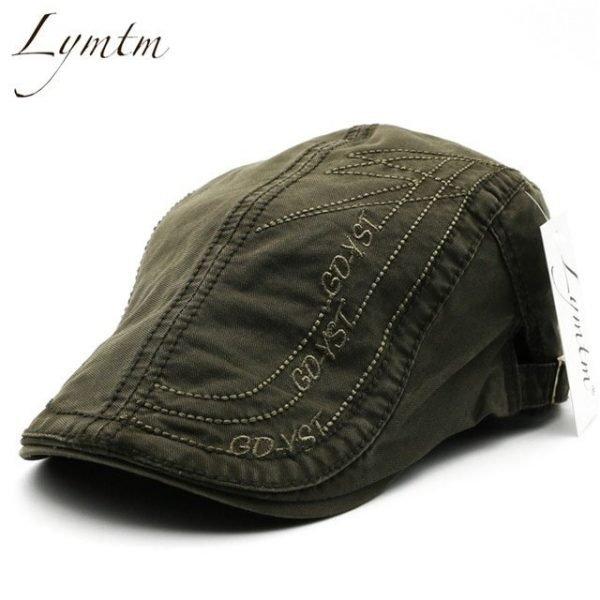 Casual British Style Unisex Solid Cabbie Hats Caps Newsboy Cap Flat Hat Irish Newsboys Caps For Men And Women 30