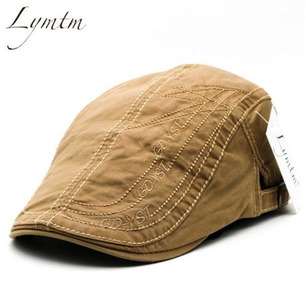 Casual British Style Unisex Solid Cabbie Hats Caps Newsboy Cap Flat Hat Irish Newsboys Caps For Men And Women 32