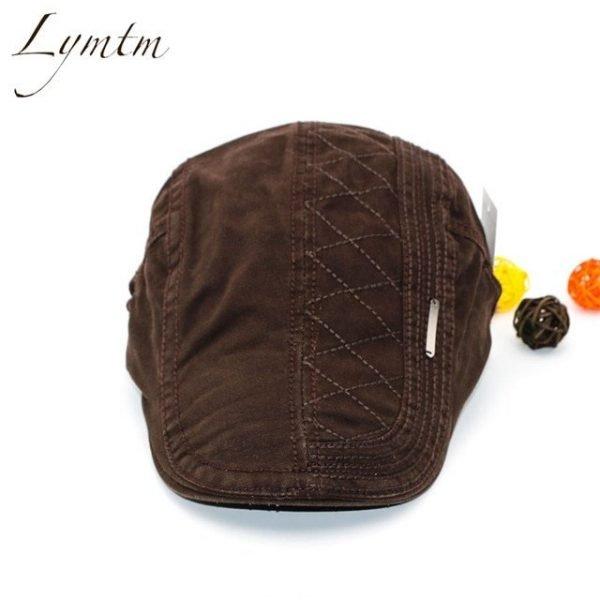 Casual British Style Unisex Solid Cabbie Hats Caps Newsboy Cap Flat Hat Irish Newsboys Caps For Men And Women 14