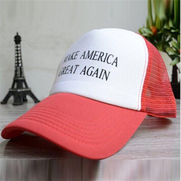 Make America Great Again Hat Donald Trump Cap GOP Republican Adjust Mesh Baseball Cap patriots Hat Trump for president HO935046 22