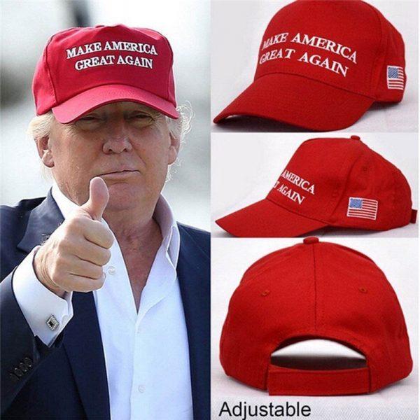 Make America Great Again Hat Donald Trump Cap GOP Republican Adjust Mesh Baseball Cap patriots Hat Trump for president HO935046 2