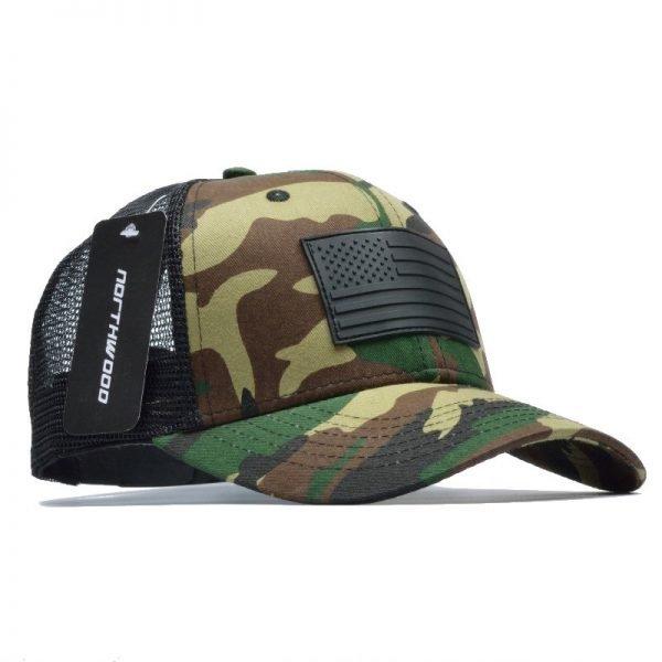 [NORTHWOOD] Camo Mesh Baseball Cap Men Camouflage Bone Masculino Summer Hat Men Army Cap Trucker Snapback Hip Hop Dad Hat 4