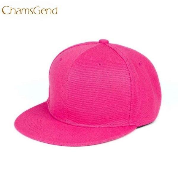 Newly Design Fashion Unisex Plain Snapback Hats Hip-Hop Adjustable Baseball Cap Drop Shipping #0801 4