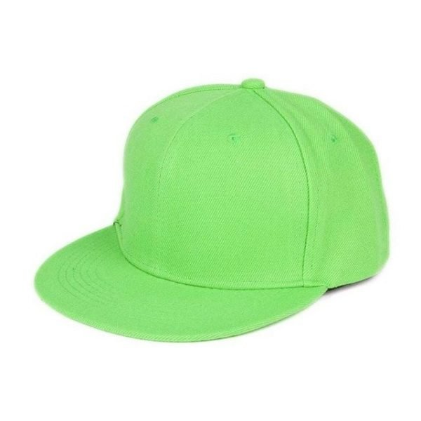 Newly Design Fashion Unisex Plain Snapback Hats Hip-Hop Adjustable Baseball Cap Drop Shipping #0801 16