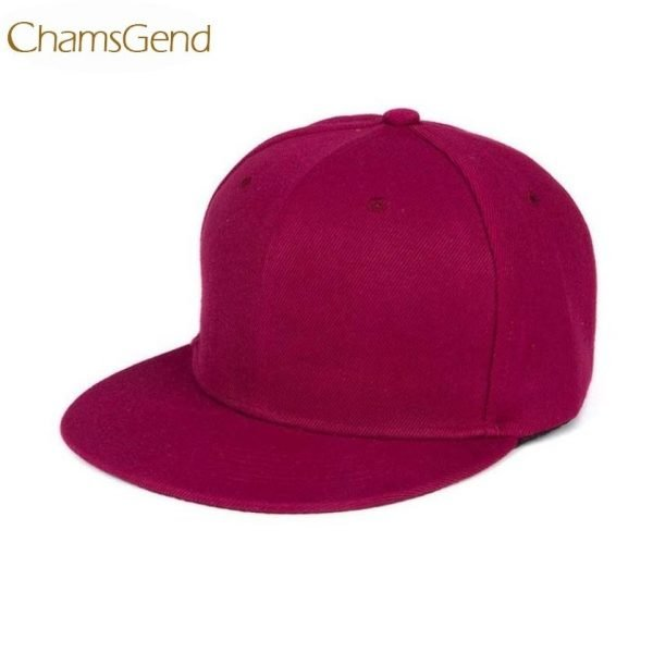 Newly Design Fashion Unisex Plain Snapback Hats Hip-Hop Adjustable Baseball Cap Drop Shipping #0801 6