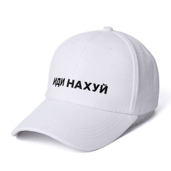 SANDMAN High Quality Brand Russian Letter Snapback Cap 100% Cotton Baseball Cap For Adult Men Women Hip Hop Dad Hat Bone Garros 14