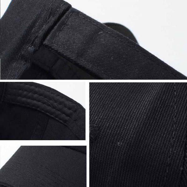 Summer Baseball Cap Women Men's Fashion Brand Street Hip Hop Adjustable Caps Suede Hats for Men Black White Snapback Caps 12
