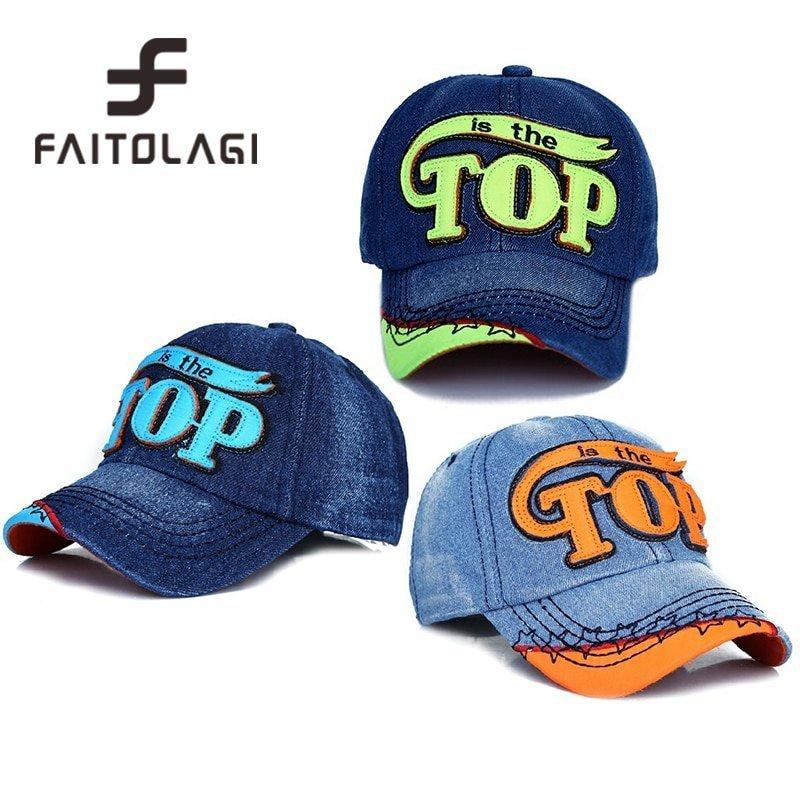 TOP BOY Baby Baseball Caps kids Snapback Hip Hop Cap Boys Girls Summer Sun Hats gorras planas enfants casquette gorras czapka 3
