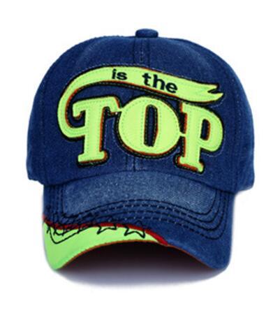 TOP BOY Baby Baseball Caps kids Snapback Hip Hop Cap Boys Girls Summer Sun Hats gorras planas enfants casquette gorras czapka 25