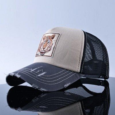 TQMSMY Unisex sun hats for men Hip Hop Hat Breathable Mesh Baseball Caps Women Embroidery panda Snapback caps Summer Gorras 34