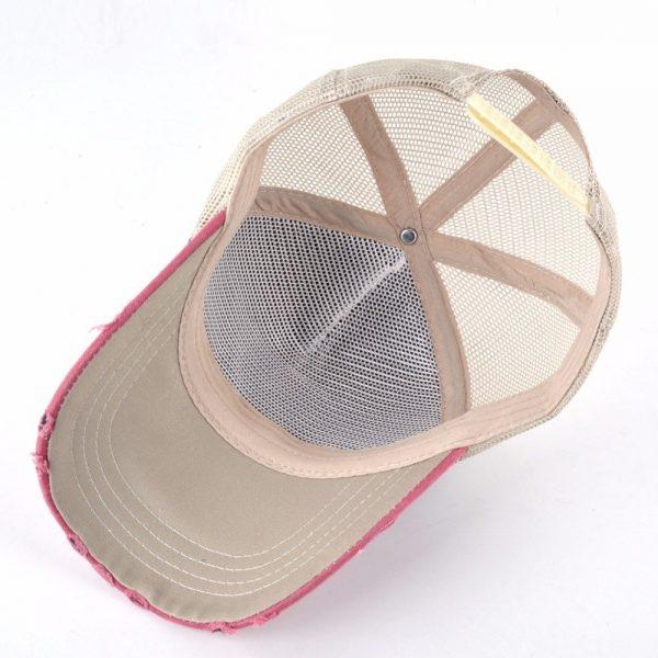 TQMSMY Unisex sun hats for men Hip Hop Hat Breathable Mesh Baseball Caps Women Embroidery panda Snapback caps Summer Gorras 10