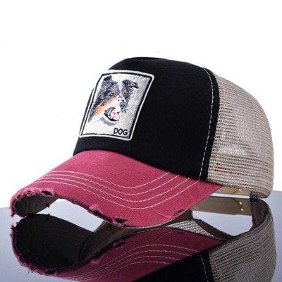 TQMSMY Unisex sun hats for men Hip Hop Hat Breathable Mesh Baseball Caps Women Embroidery panda Snapback caps Summer Gorras 22