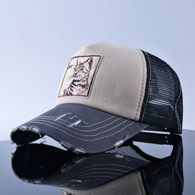 TQMSMY Unisex sun hats for men Hip Hop Hat Breathable Mesh Baseball Caps Women Embroidery panda Snapback caps Summer Gorras 26